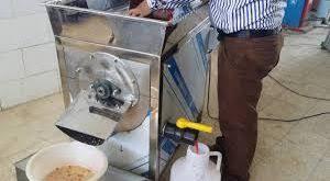 دستگاه آبگیری صنعتی انار